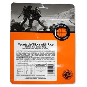 Expedition Foods - Vegetable Tikka