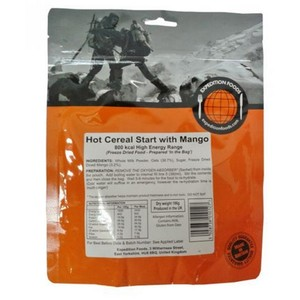 Expedition Foods - Hot Cereal Start with Mango