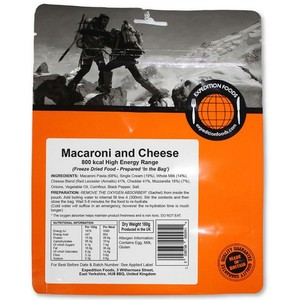 Expedition Foods - Macaroni Cheese