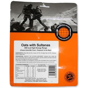 Expedition Foods - Oats with Sultanas