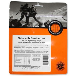 Expedition Foods - Oats with Blueberries