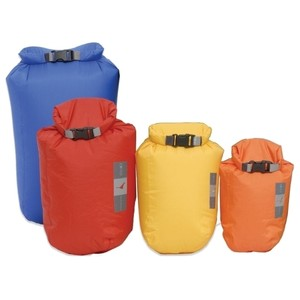 EXPED Waterproof Fold Dry Bags - Bright (Pack of 4)