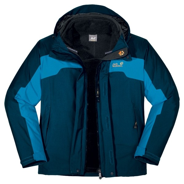 Jack Wolfskin Men's Cool Move 3-in-1 Jacket