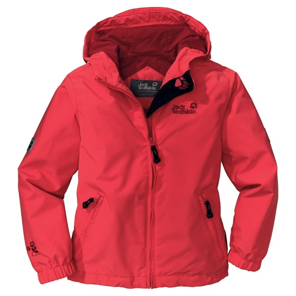 Jack Wolfskin Girl's Magic Rain Jacket