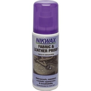 Nikwax Fabric & Leather Proof (125ml Spray)