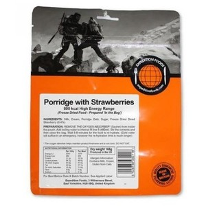 Expedition Foods - Porridge with Stawberries