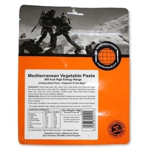 Expedition Foods - Mediterranean Vegetable Pasta