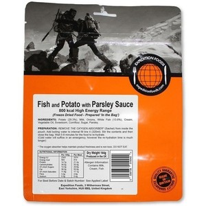 Expedition Foods - Fish with Potato in Parsley Sauce