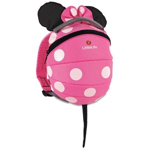 LittleLife Toddler Pink Minnie Daysack