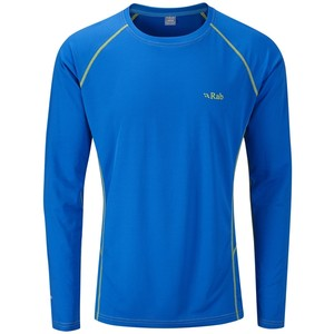 Rab Men's Dryflo 80 Long Sleeved Tee