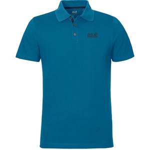 Jack Wolfskin Men's Pique Function 65 Polo Shirt