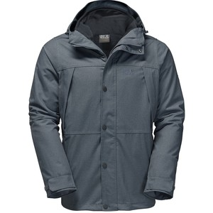 Jack Wolfskin Men's Harbour Bay 3-in-1 Jacket