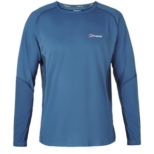 Berghaus Men's Tech Tee LS Crew Neck
