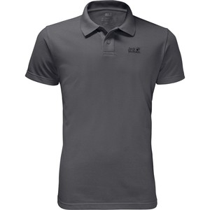 Jack Wolfskin Men's Pique Polo Shirt