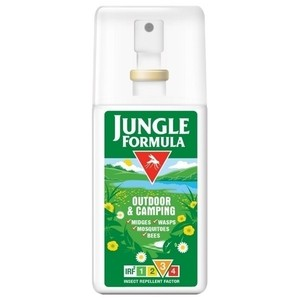 Jungle Formula Outdoor & Camping Pump Spray Insect Repellent - 75ml (SALE ITEM - 2015)