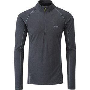 Rab Men's Merino+ 120 Long Sleeve Zip