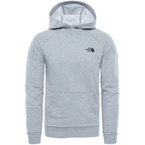 The North Face Men's Raglan Red Box Hoodie