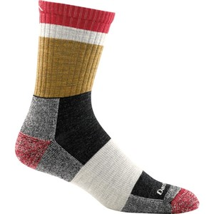 Darn Tough Men's Heady Stripe Micro Crew Light Cushion Sock