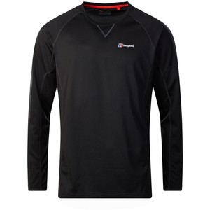 Berghaus Men's Tech Tee LS Crew 2.0