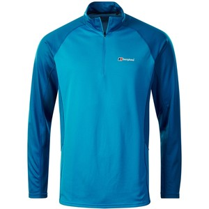 Berghaus Men's Tech Tee LS Zip 2.0
