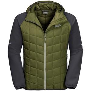 Jack Wolfskin Men's Glassland Hybrid Hood jacket