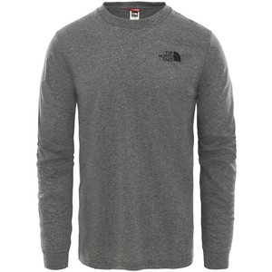 The North Face Men's Long-Sleeve Simple Dome T-Shirt