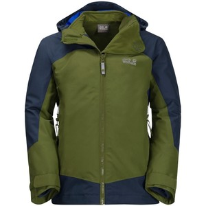 Jack Wolfskin Boy's Akka 3in1 Jacket (SALE ITEM - 2018)