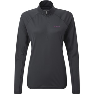 Rab Women's Pulse LS Zip Tee