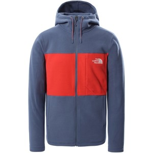 The North Face Men's Blocked TKA 100 F/Z Hoodie