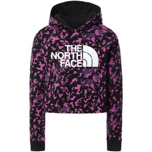 The North Face Girl's Drew Peak Cropped P/O Hoodie