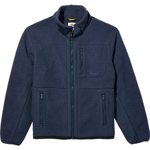 Timberland Men's Mixed Media Sherpa Fleece Jacket