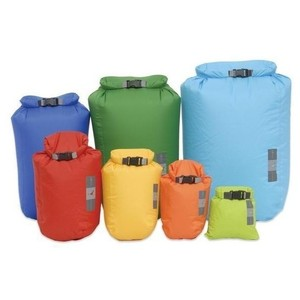 EXPED Coloured Waterproof Fold Dry Bag - XXS