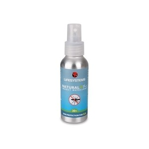 Lifesystems Natural Plus 30+ Insect Repellent (100ml Spray)